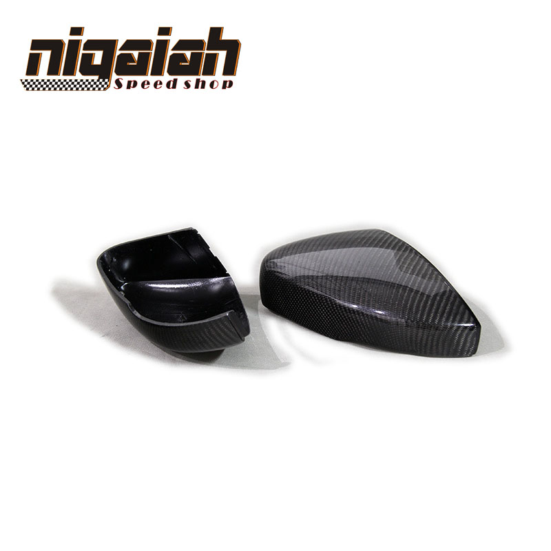 For Volkswagen VW POLO 2014-2016 Carbon Rearview Replacement Carbon Fiber Side Mirror Cover наклейки volkswagen vw polo
