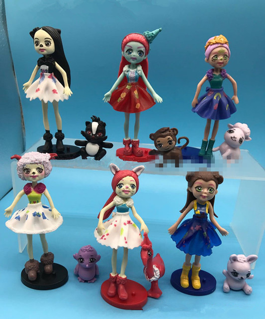 Cartoon Ever After High Change Dresses Dolls Pvc Action Figure
