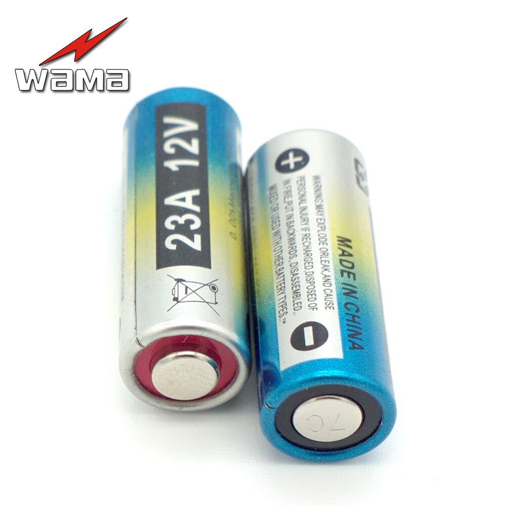 Baterias Secas mah bateria de carro de Modelo Número : Wama 23A Alkaine Primary DRY Batteries