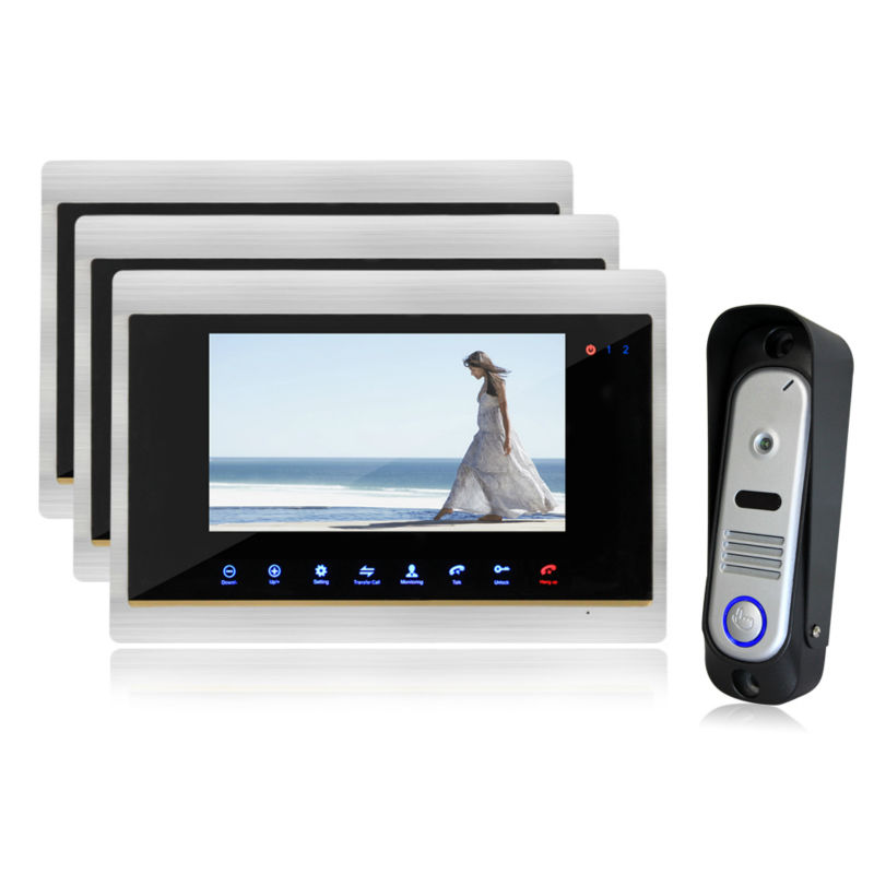 Homefong Intercom Doorbell Video font b Door b font Phone Home Security font b Camera b