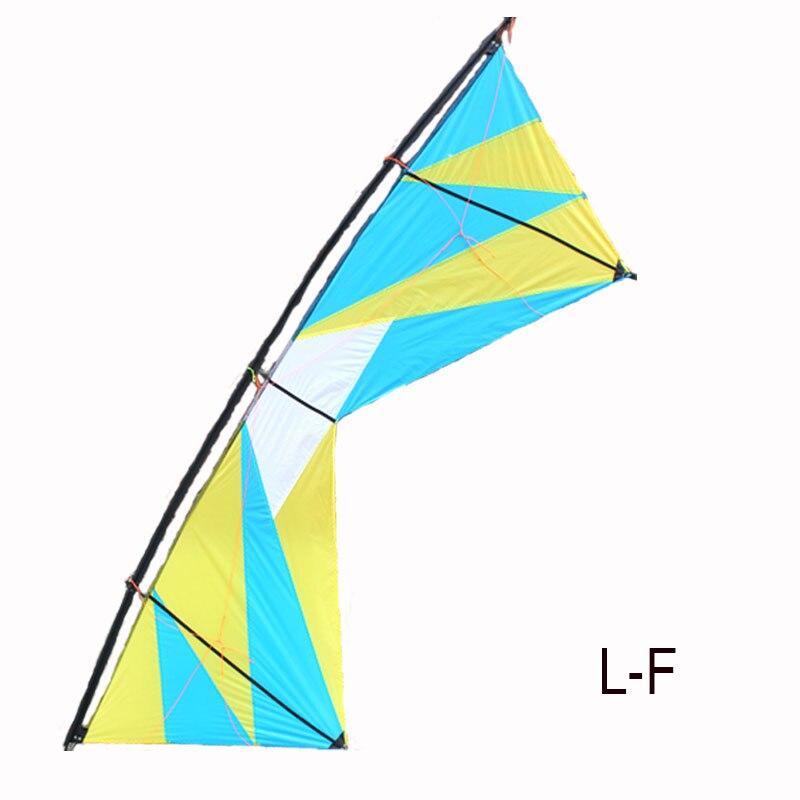 Sports d'amusement en plein air professionnels 100 pouces cerf-volant de cascadeur à quatre lignes cerfs-volants de Sport de puissance avec des outils volants - 3