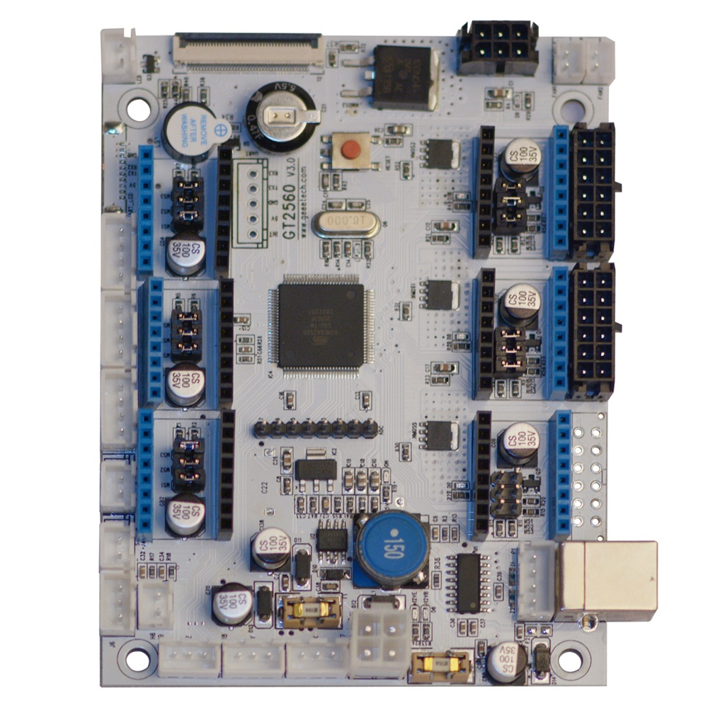 GEEETECH GT2560 V3 0 Motherboard used for A10, A10M, A20 and A20M 3D  printers