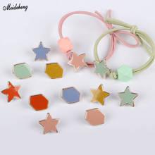 Fashion Japan Korean Handmade Jewelry Beads Hair Decoration DIY Material RubberBand Star Hexagon Sweet Ring Accessory