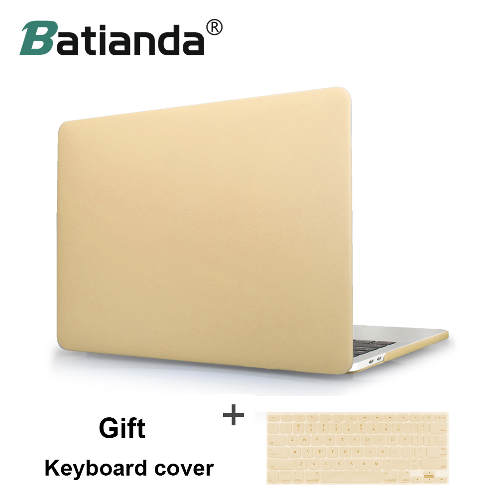 The Latest Metal Color Rose Champagne Gold Silver Sleeves Covers Cases for Macbook air 11 13 pro 13 15 retina 13.3 15.4 inch