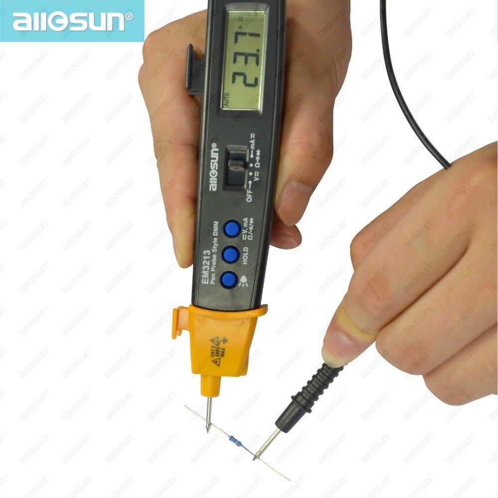 AutoRange Pen stílusú digitális multiméter DMM AC DC Volt Amp Ohm - Mérőműszerek - Fénykép 2