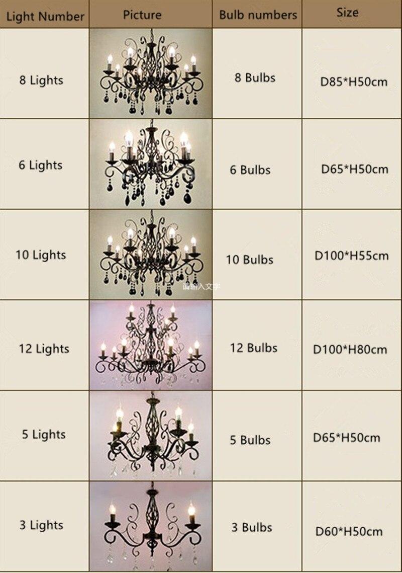 E14 առաջատար էլեկտրական լամպի մոմի - Ներքին լուսավորություն - Լուսանկար 6