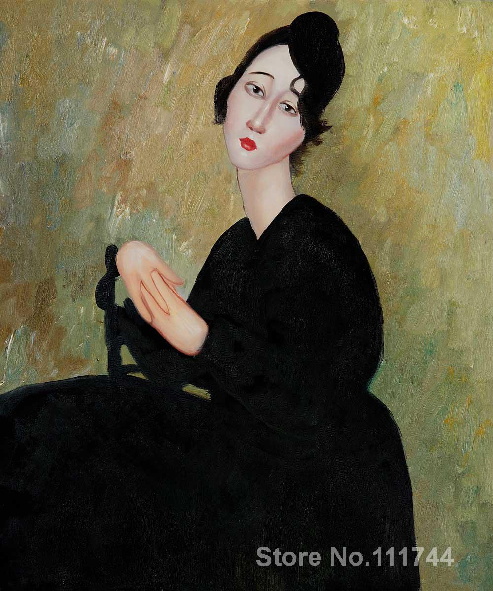 Paintings of women Portrait of Madame Hayden Amedeo Modigliani paintings High quality Hand painted
