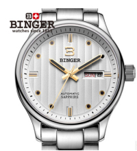 Brand Binger Army watch special waterproof luminous mens sports Dual Date Dial 24 Hours Cool Geneva