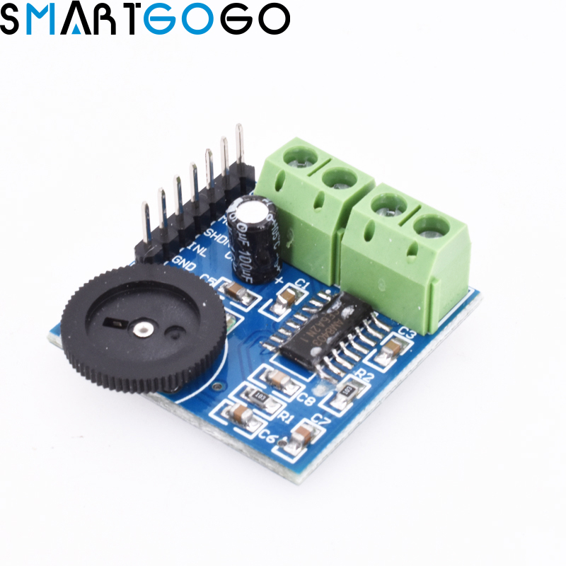 OTA Mini PAM8403 3W X 2 Double Channel Way Double Track Power Audio Amplifier Module Volume Adjustment Stereo 5V Control Board