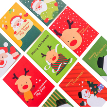 4pcs/lot Cute cartoon christmas small notebook Paper Book Diary Notebook Stationery student supplies