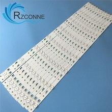 LED backlight strip 8 lamp for Thomson 65UA6606 L65E5800A 4C LB650T YH3 LVU650CMDX 4C LB650T VH3 TCL_ODM_650d30_3030C_12X8 V4 V2