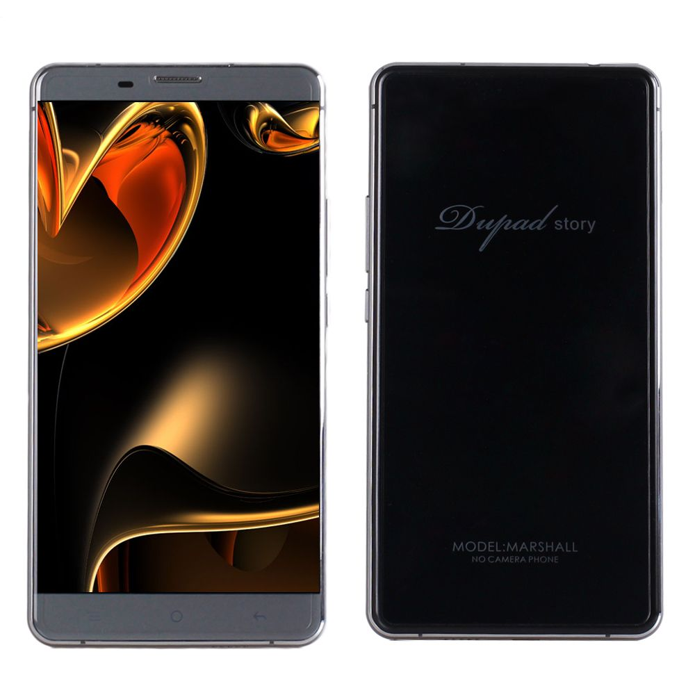 DUPAD STORY Marshall No Camera with GPS 4G LTE Smartphone 3GB RAM 16GB ROM MTK6753 Octa-core 1920*1080 5.5 inch FHD Screen