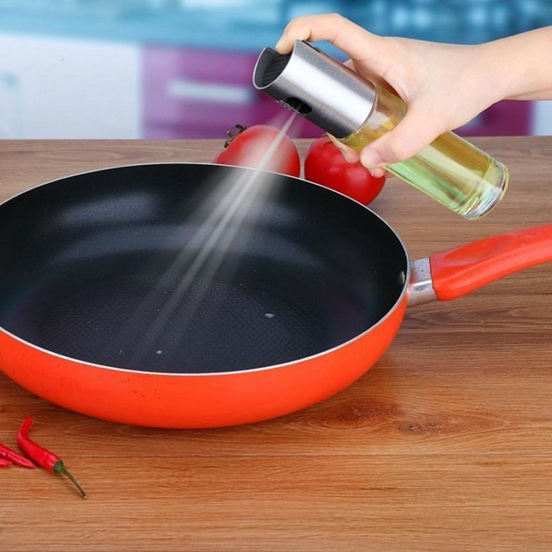 2019 Oil Pump Spray Bottle Oil Sprayer Pot Olive Can Baking Accessories Cooking Oil Sprayer Kitchen BBQ Tools W3 in Other BBQ Tools from Home Garden