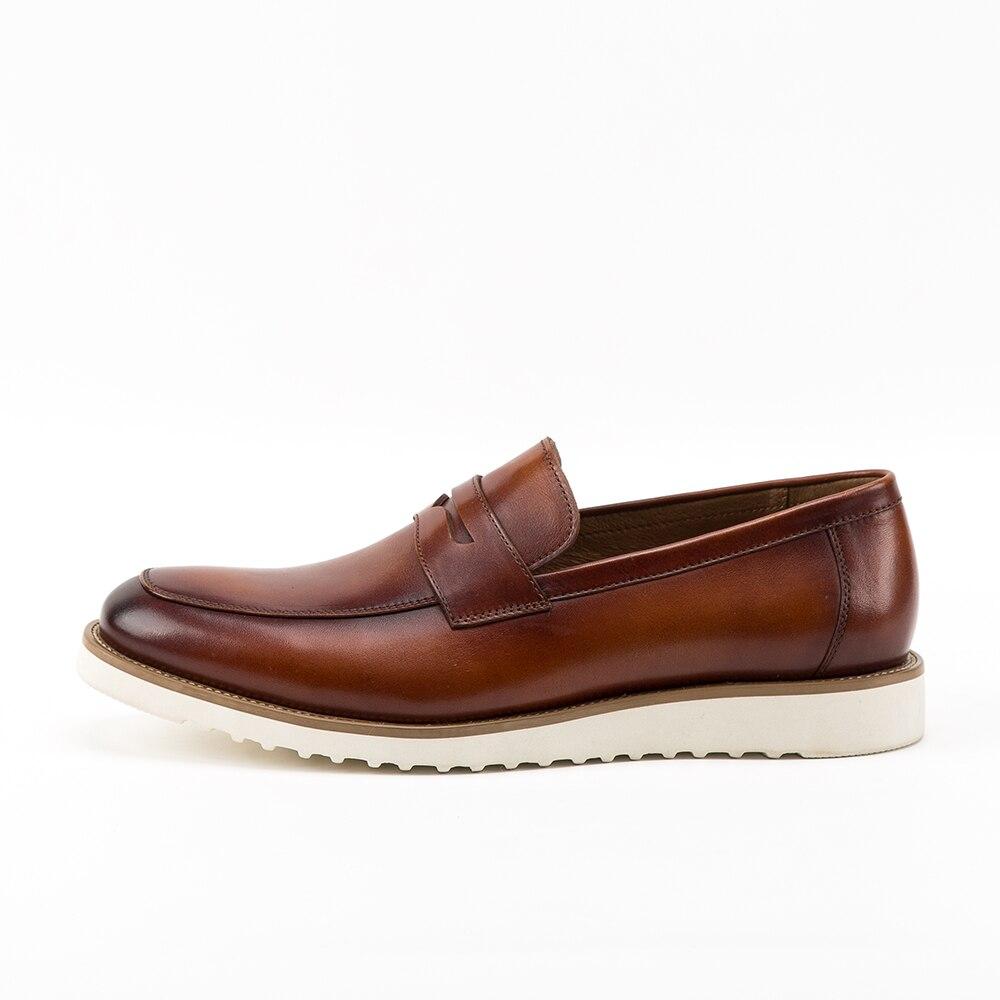 Coffee Formale Stil Alle Kleid Britischen Mann Oxfords Leder Xiuningyan 38 Größe Neue 44 brown Schuhe Oxford Party Business Männer Echtem 8BwvUEq