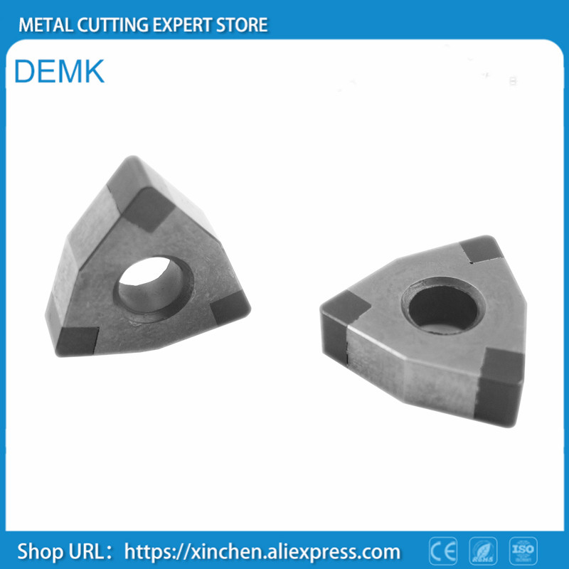 Knife free shipping CBN PCBN cubic boron nitride,WNGA080404/08,WNMG,CNC,for superhard materials,cast iron,quenching 2pcs customed pcbn