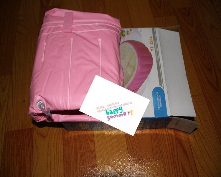 Vasca Da Bagno Rosa : Alta qualità portatile piscina rosa gonfiabile del bambino bambini
