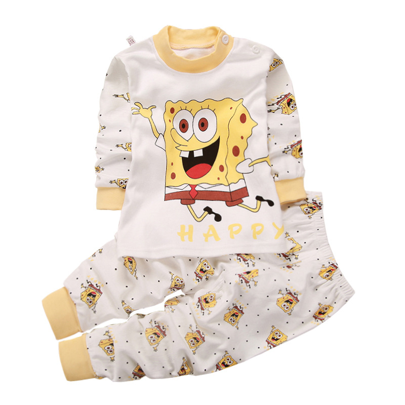 Baby Girl Clothes Set 2pcs Boys Clothes Long Sleeve T-shirt + Pants Suit Cotton Baby Girl Newborn Pyjamas Kids Sleepwear new baby boy clothes fashion cotton short sleeved letter t shirt pants baby boys clothing set infant 2pcs suit baby girl clothes