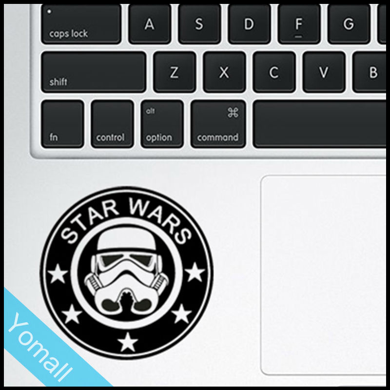 US $5 9 |Cool Coffee Buck Trackpad Decal Laptop Sticker for MacBook Air Pro  Retina 11