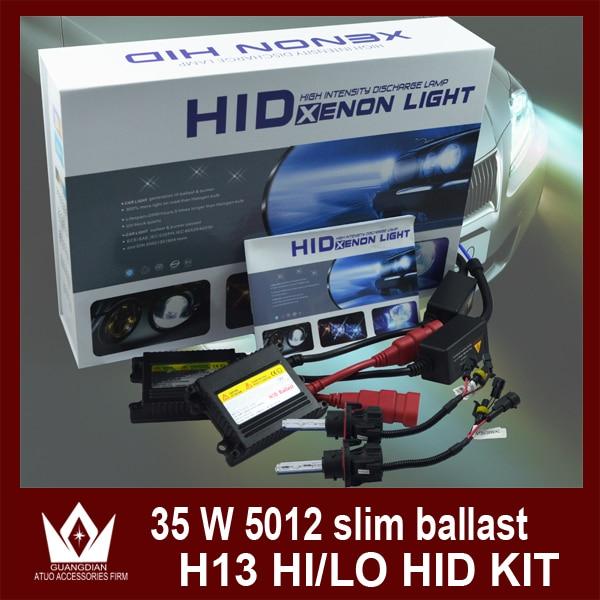 ФОТО Night Lord 35W H13 HID KIT Bi Xenon bulb Retractable lamp with silm ballast