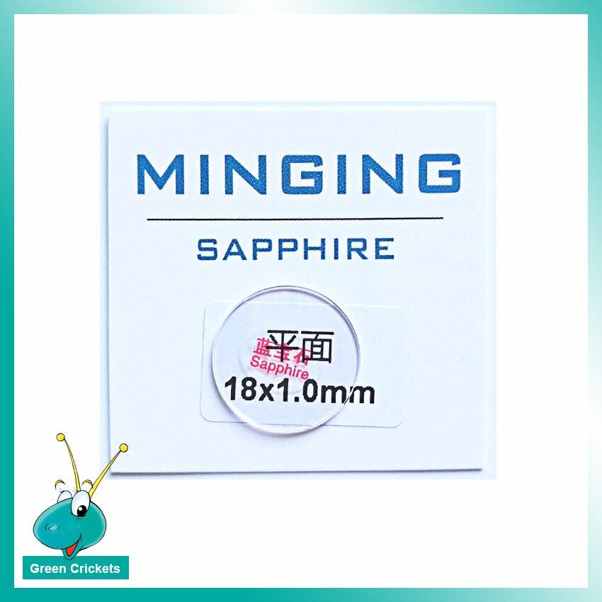 1 Paare/los 1,0mm 28mm ~ 29,5mm Sapphire Uhr Glas Für Ersatz