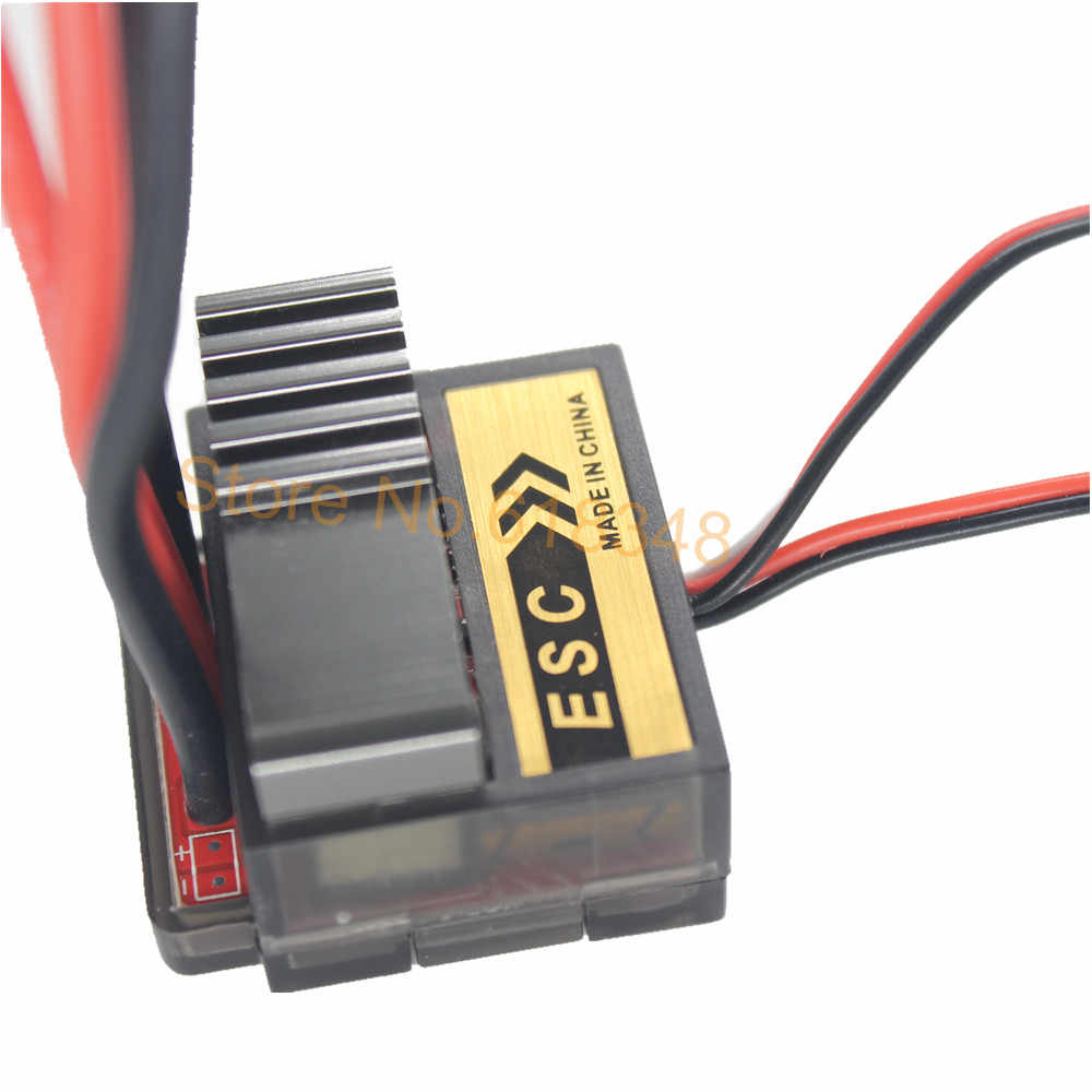Pinsel Brushed Speed Controller Max 320A mit Umge RC HSP 1/10 Auto Monster Truck Buggy Fit Himoto Redcat Racing