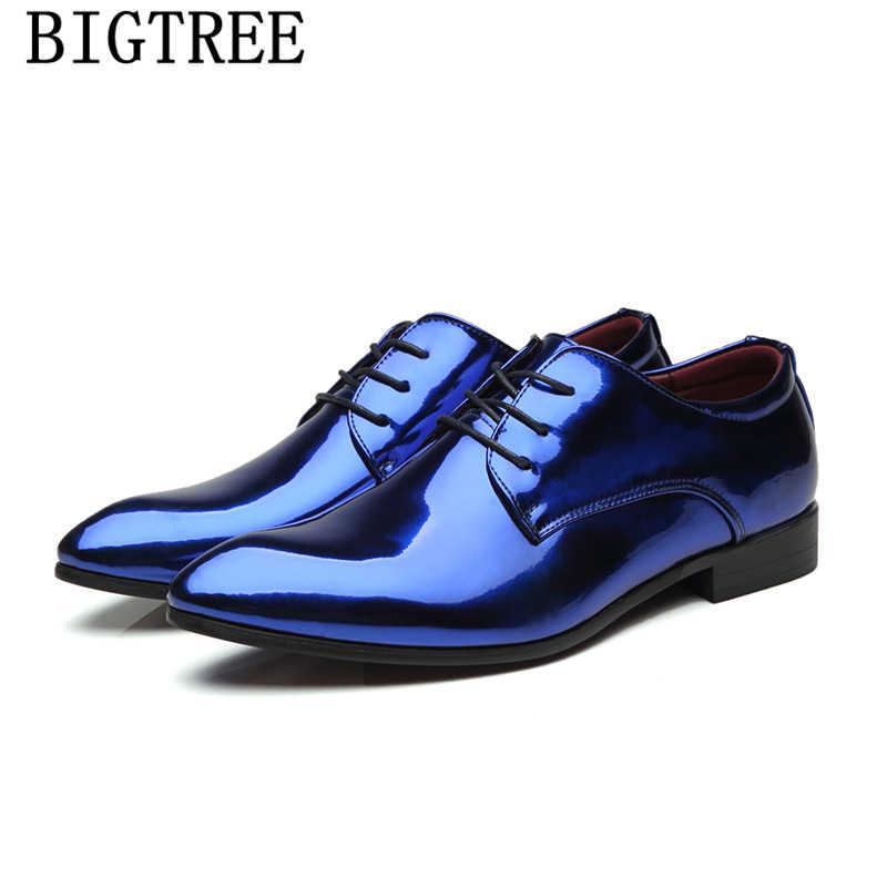 Мужские модельные свадебные туфли с острым носком; Мужская обувь в британском стиле; Официальные Вечерние туфли; Мужские Элегантные Роскошные брендовые туфли; chaussure homme
