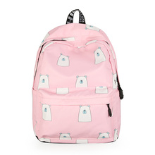 купить Female Nylon Waterproof Women School Backpacks for Teenage Girls Mochila Feminina Laptop Back pack Travel Bags Casual Sac A Dos по цене 1260.29 рублей