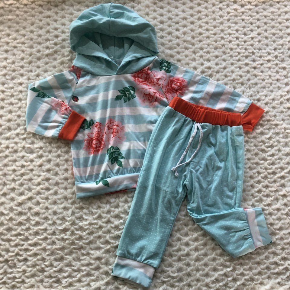 special offer multi color Fall/Winter outfits baby toddler milk silk infant girls children clothing outfits boutique hoodie special offer clothing baby girls halloween outfits boutique children small boves are so scary pant cotton sets match accessory