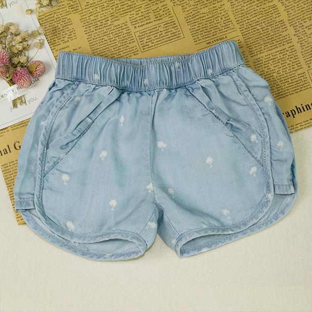 Baby Jeans Pumphose Mädchen Höschen Bottom Kleinkind Kinder Kleidung Baumwolle Neugeborenen Kurze Hosen Denim Bebe Shorts pLzGUVqSM