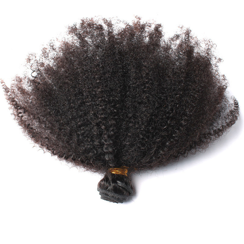 7A Mongolian Kinky Curly Hair 1pc 100g/pc Unprocessed Mongolian Afro Kinky Curly Virgin Hair Extensions Kinky Curly Virgin Hair