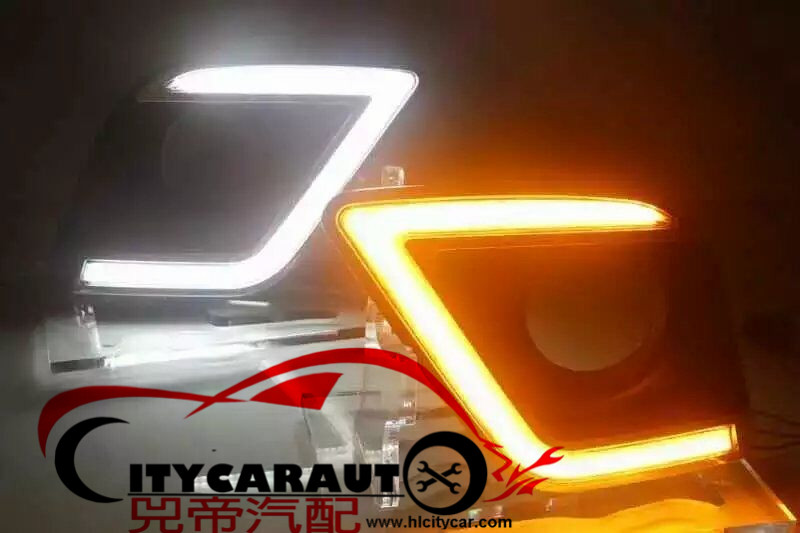 FREE SHIPPING Waterproof LED car drl Daytime Running Lights accessories FIT For HILUX REVO LED LIGHTS 2015 2016 2017 revo fog lamp waterproof led car drl daytime running lights accessories for toyota hilux vigo champ 2015 2016 year