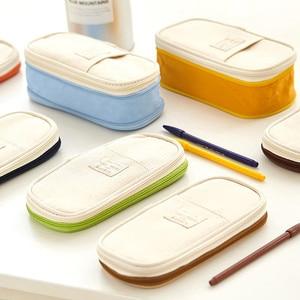Image 3 - 2019  Storage Organizer Canvas Large Capacity Bag Holder Storage Bags Case Multifunctional Zipper School Portable Pencil Case