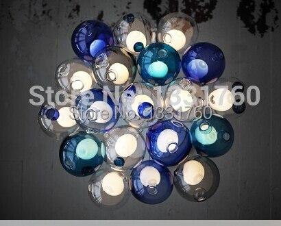 Kronleuchter Glaskugeln ~ Großhandel heißer verkauf schöne anhänger kronleuchter leuchte