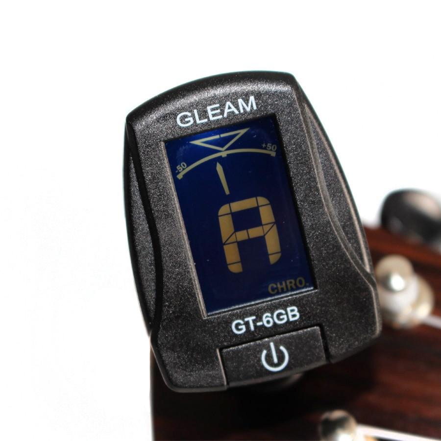 Multifunction Chromatic Ukulele Bass Guitar Tuner Clip-On Electric Universal Portable Tuner