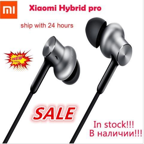 In Stock Original Newest Xiaomi headset Mi Hybrid Pro Earphone Triple Driver | Mi In-Ear Pro HD | Circle Iron Pro Headphone Mic