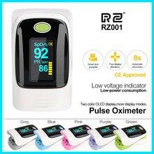 Натуральная Нажатием Пульсоксиметр oximetro de dedo Портативный крови Давление здравоохранения PR сигнализации settingmedical оборудования RZ001