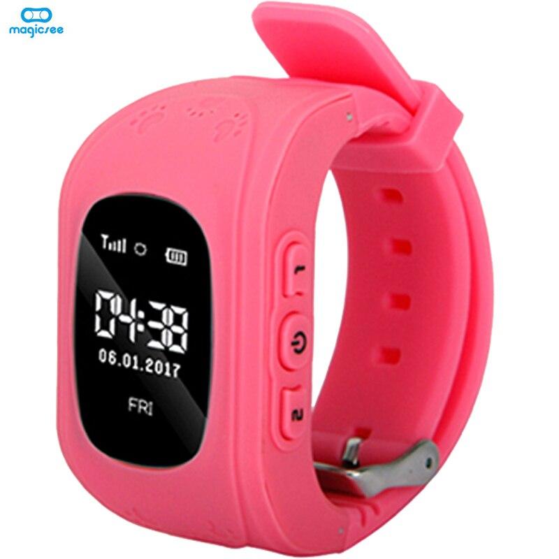 Smart Watch Kids Safe Wristwatch LBS Finder Locator Tracker SIM SOS Anti Lost Smart Watches 6