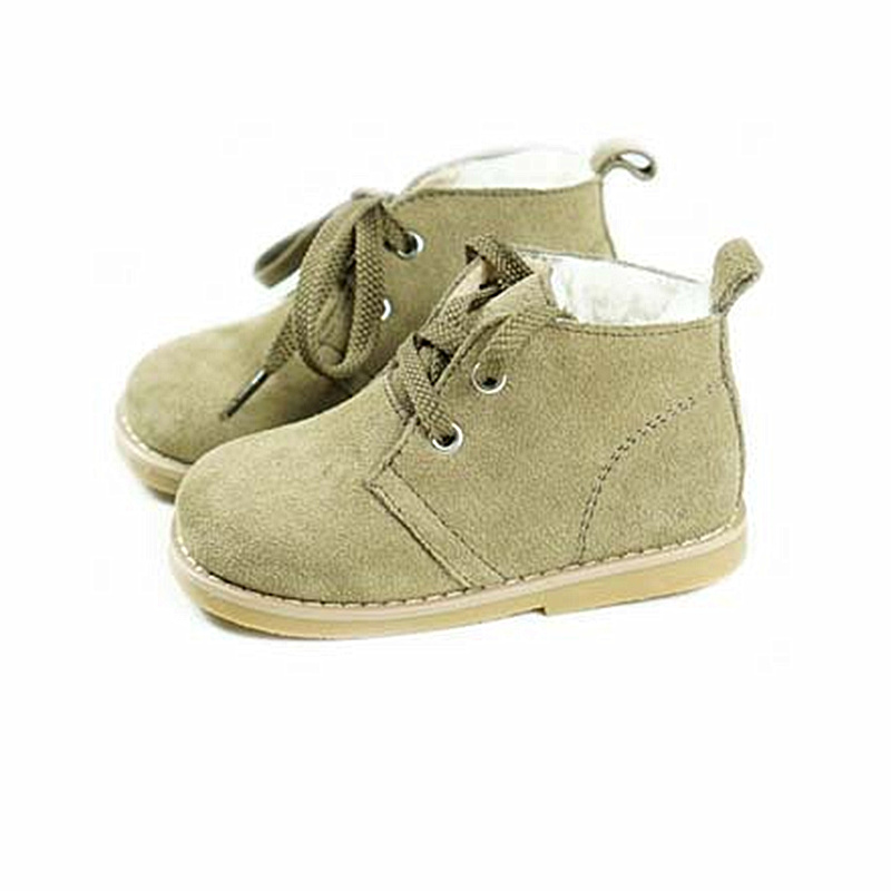 Suede Leather Girls Boots Fashion Lambswool Warm Children Boots Baby Snow Boots Boys and Girls shoes 1-6TSuede Leather Girls Boots Fashion Lambswool Warm Children Boots Baby Snow Boots Boys and Girls shoes 1-6T