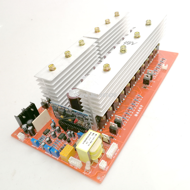 Ultra high power frequency inverter motherboard 24V4 kilowatt 48V8 kilowatt PCB circuit board