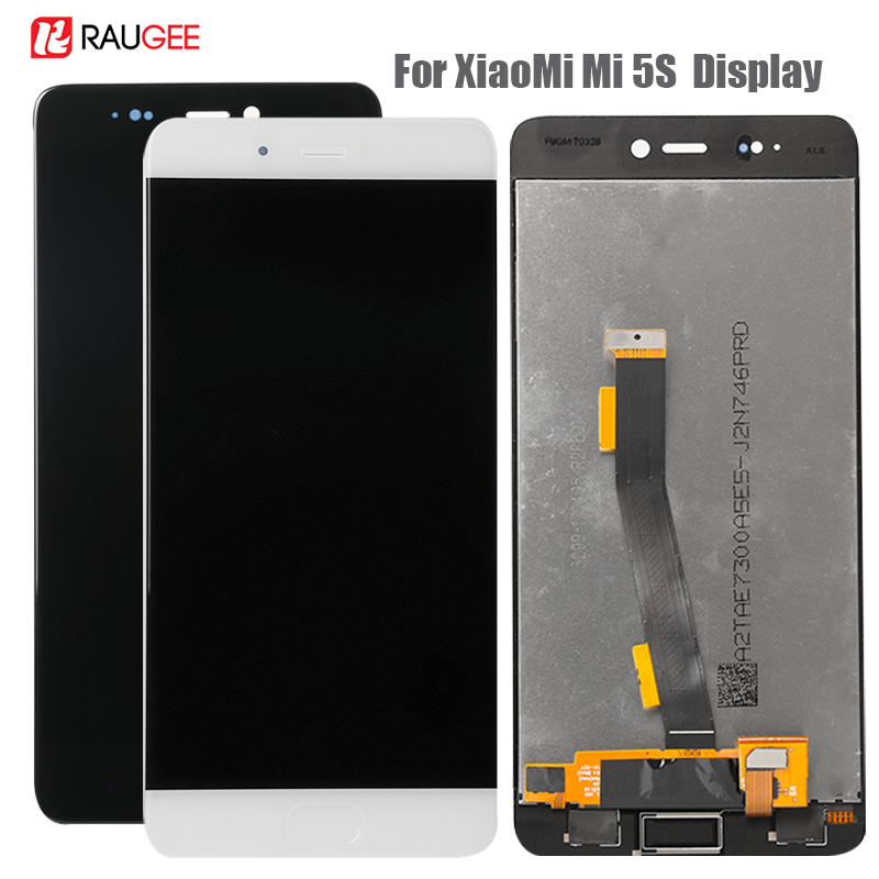 Display For Xiaomi Mi5S Lcd Screen Replacement LCD Display Touch Screen For Xiaomi Mi5S Display Tested Phone Lcds