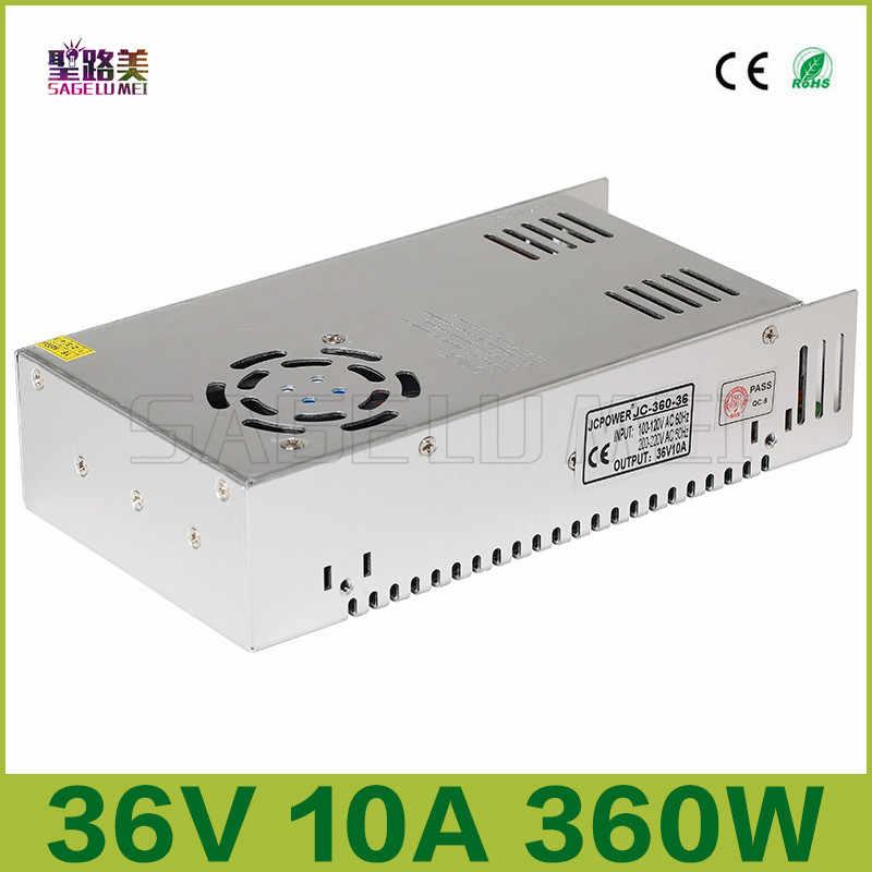 Высококачественные DC5V 12 В 24 В 36 В светодио дный полосы Мощность к адаптеру AC100-240V 1A 2A 3A 4A 5A 6A 8A 10A 15A 20A 30A 40A 50A 60A Мощность питания