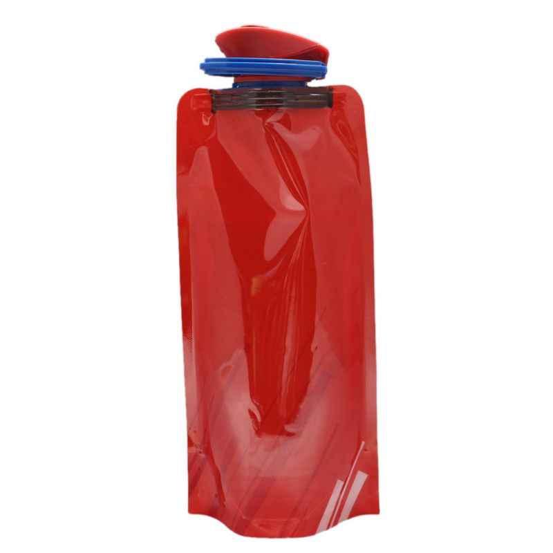 新耐久性のあるbpa送料ポリマー折りたたみソフト水袋ポータブルやかんアウトドアスポーツ旅行ハイキング製品J2