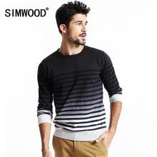 Simwood 2016 neue herbst winter kausalen mode pullover männer pullover strickwaren o-ansatz kostenloser versand my2019