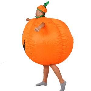 Image 4 - Halloween Adult Funny Party Cosplay Pumpkin Costume Halloween Inflatable Pumpkin Costume For Women Men Halloween Party Supplies