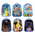Custom Image/Puppy Patrol/Five Nights At Freddys/Pokemon/Star Wars Kids girl School Bags Backpack Boys Kindergarten Shoulder Bag