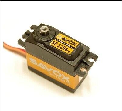 Savox grande digital servo savox sc 1256tg sa 1256 1256 high torque titanium gear coreless servo dello sterzo digitale 20 kg-in Componenti e accessori da Giocattoli e hobby su  Gruppo 1