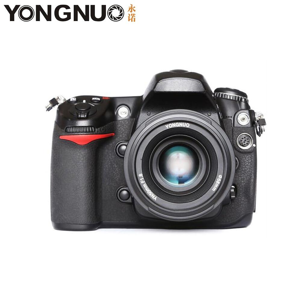 Objectif d'appareil photo YONGNUO YN50mm F1.8 MF YN 50mm f/1.8 AF objectif YN50 mise au point automatique d'ouverture pour NIKON D5300 D5200 D750 D500 appareils photo reflex numériques - 4