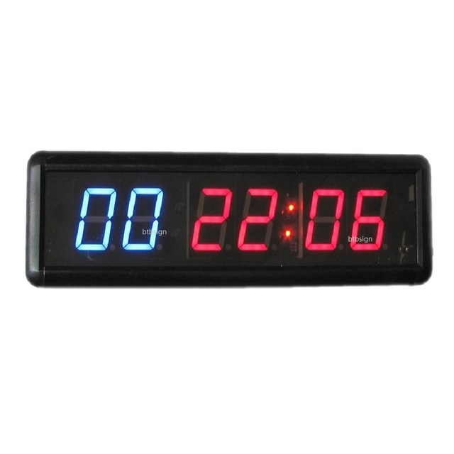 1 8\u0027\u0027 6digits crossfit interval timer stopwatch wall clock wireless1 8\u0027\u0027 6digits crossfit interval timer stopwatch wall clock wireless infrared remote control