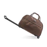 Free Shipping Trolley Bag Luggage Travel Bags Metal Hand Trolley Travel Bag Trolley Luggage Men Luggage