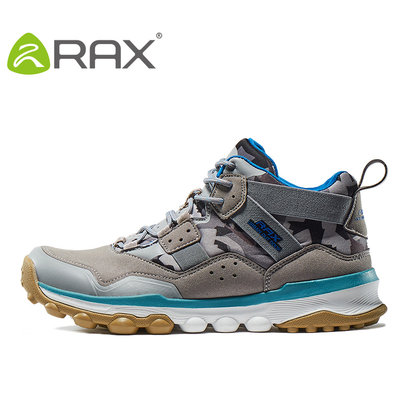 RAX Mens Hiking Shoes 2016 Surface Waterproof Hiking Boots For Men Women Outdoor Breathable Walking Shoes For Men Winter Boots